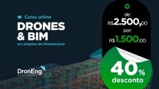 Drones & BIM em Projetos de Infraestrutura Urbana