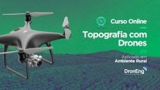 Topografia com Drones em Ambiente Rural