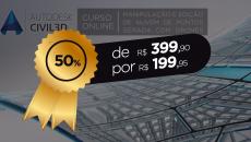 AutoCAD Civil 3D 2016: Manipulação de Nuvem de Pontos